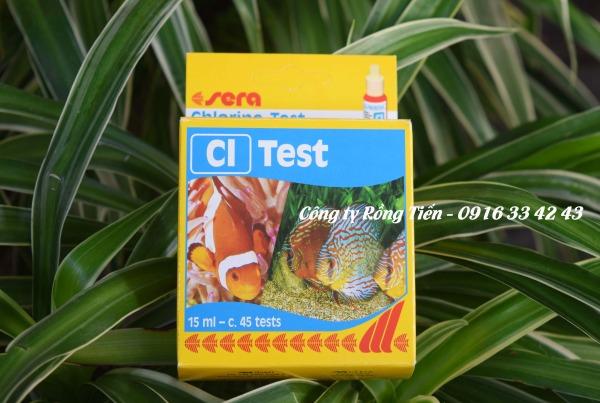 Test kit Clo kiểm tra thông số Clo trong nước ao hồ nuôi tôm cá, thủy hải sản