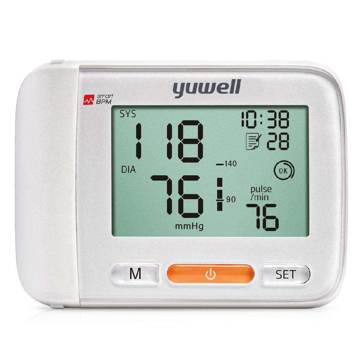 Máy đo huyết áp cổ tay Yuwell YE8900A bán chạy