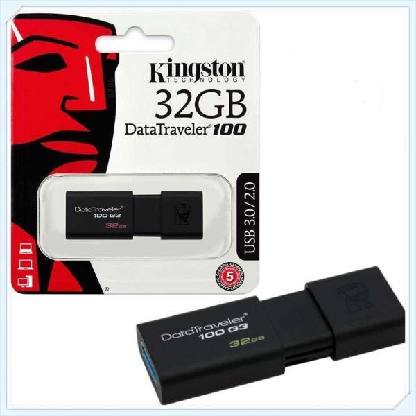 Bảng giá USB kingston 16G / 32GB DT100 G3 USB 3.0 - FPT Bảo hành 10  năm 1 đổi 1 Phong Vũ