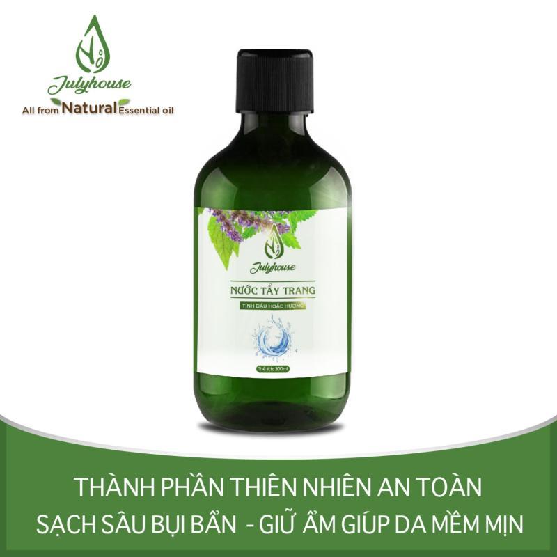 Nước tẩy trang 2 lớp tinh dầu Hoắc Hương 300ml JULYHOUSE nhập khẩu