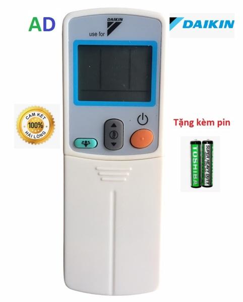 Điều khiển điều hòa Daikin ARC433B50 Powerfull mặt xanh  loại tốt thay thế khiển zin theo máy - Tặng kèm pin chính hãng - Remote Daikin -  Remote máy lạnh Daikin Hàng đẹp ARC433B50 dùng cho 1 chiều và 2 chiều - Bảo hành 3 tháng