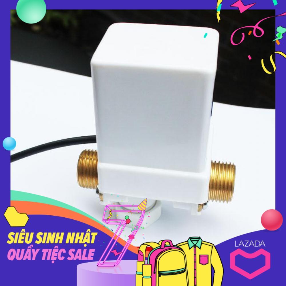 Bộ xả nước cảm ứng tự động dùng làm vòi rửa tay VAKS - Model: VXR + kèm nguồn điện 12V,1A