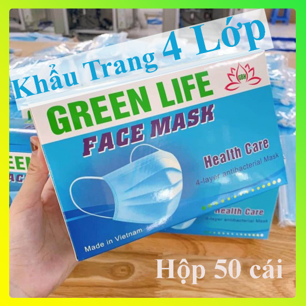 Giá bán Khẩu Trang Y Tế ⚡FREESHIP⚡ [Hộp 50] Khẩu Trang 3D Face Mask Kháng Khuẩn