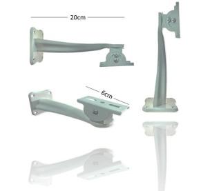 Chân, đế gắn camera ngoài trời cố định, dài 20Cm - các khớp nối có thể xoay 360 độ và cố định bằng ốc chắc chắn thumbnail