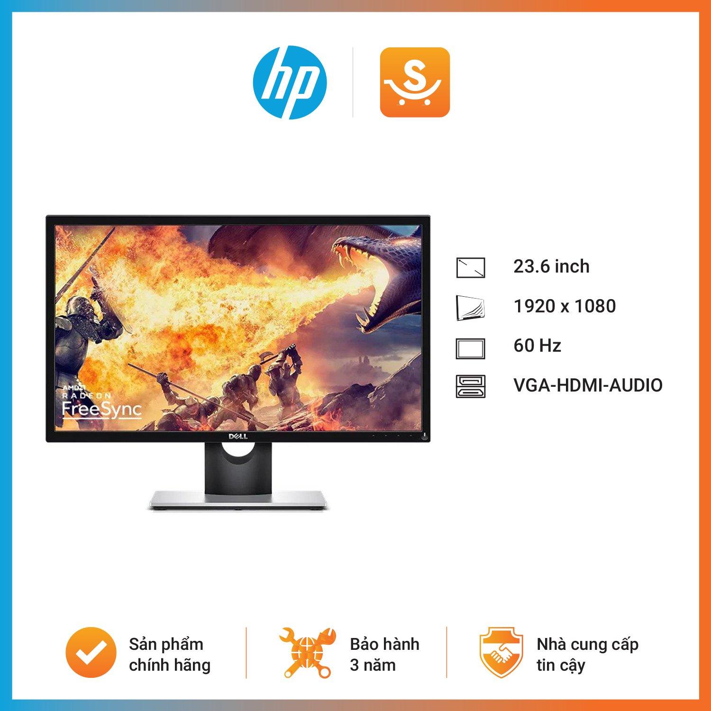 Màn hình Dell SE2417HGX (23.6 inch/FHD/TN/75Hz/5ms/300 nits/Audio-Out/HDMI+VGA/Gaming)