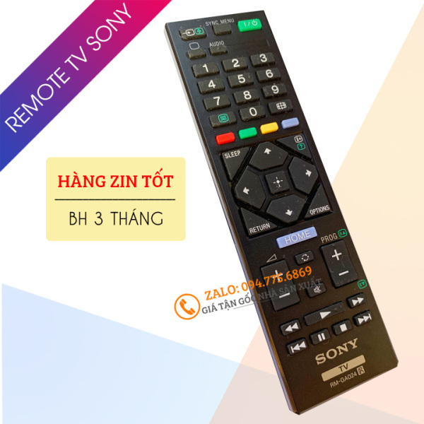 Bảng giá [ Hàng Zin Tốt ] Điều Khiển Tivi Sony RM-GA024 - Remote Tivi Sony Tương Thích Tất Cả Các Tivi LCD - LED - Loại Ngắn