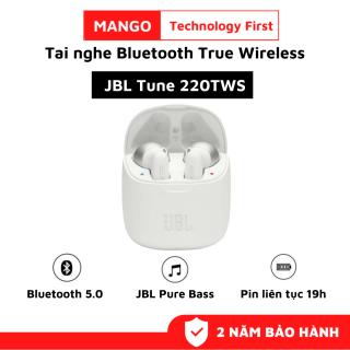 Tai nghe Bluetooth True Wireless JBL Tune 220TWS, Tai Nghe Nhét Tai Bluetooth Không Dây, Âm bass mạnh mẽ với công nghệ JBL Pure Bass Sound, Pin Trâu Tới 19h, Thiết Kế Bắt Mắt - Tương Thích Androi, IOS, WinDow, Phù Hợp Với Mọi Người thumbnail