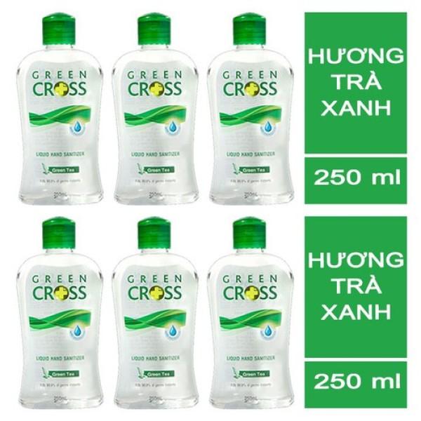 Dung Dịch Rửa Tay GREEN CROSS Hương Trà Xanh 250ml giá rẻ