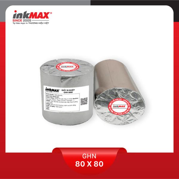 Mua ( Combo 100 cuộn ) Giấy in nhiệt K80x80 - Giấy in BILL - Giấy in hóa đơn - Hàng chính hãng inkMAX