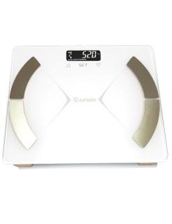 [ Cực chính xác ] Cân sức khỏe phân tích chỉ số cơ thể Rapido RSF01 ngoài chức năng cân cân nặng, còn có thể đo được 8 chỉ số bao gồm cân nặng, BMI, % chất béo, % lượng nước, % cơ, lượng xương, chất béo nội tạng - Hakii thumbnail