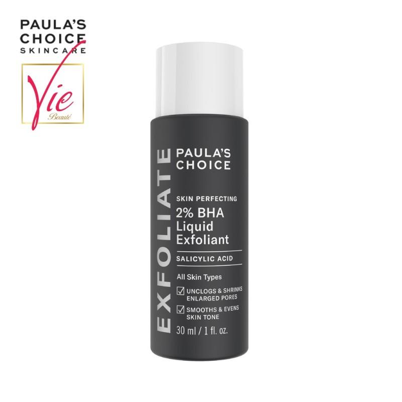 Paulas Choice BHA 2% - Tẩy tế bào chết Paulas Choice 2% BHA Skin Perfecting Liquid 30ml