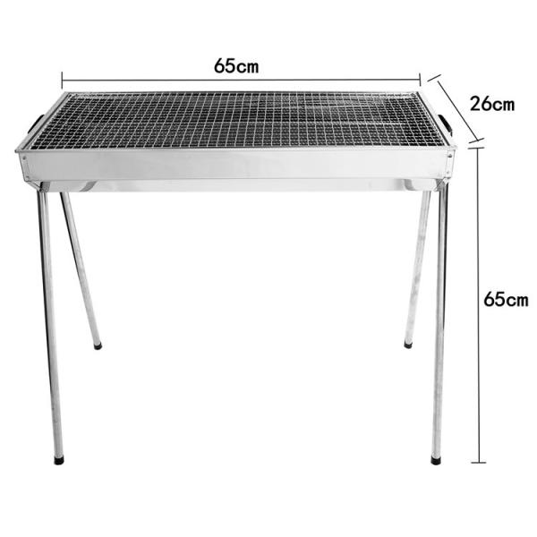 Bếp nướng than hoa TopV VCM thay đổi chiều cao vỉ, Inox không gỉ sét, chống cháy thực phẩm, an toàn sức khỏe, không cần quạt, bếp nướng không khói, bếp nướng ngoài trời, bếp nướng than hoa vuông