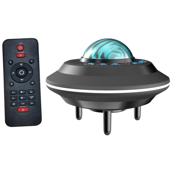 Aurora Galaxy Starry Sky Projector Colorful Led Music Moon Nebula Projection Bedroom Decoration Atmosphere Night Light