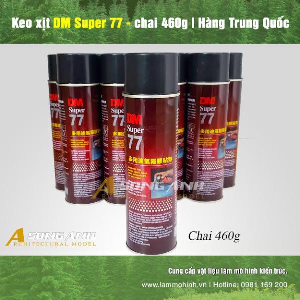 Keo Xịt Đa Năng DM Super 77 ( 460 gram )