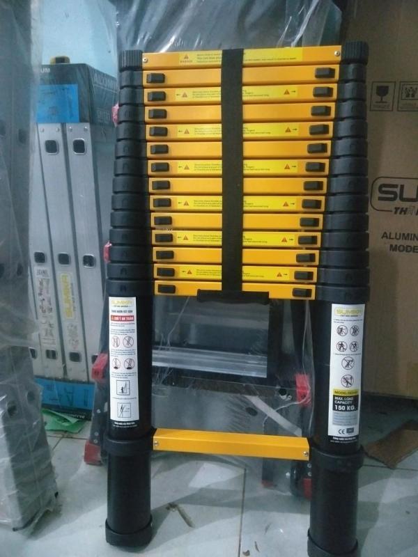 Thang nhôm rút xếp 4.1M Sumika SKS410