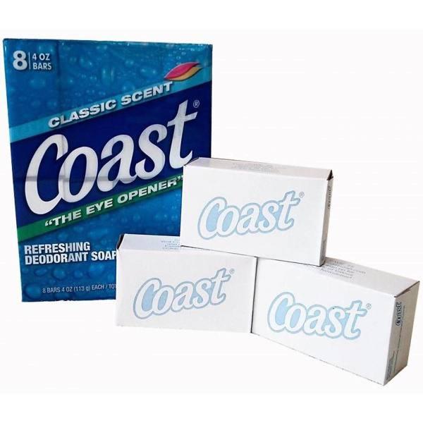 Xà bông cục Coast bán lẻ 1 cục 113g