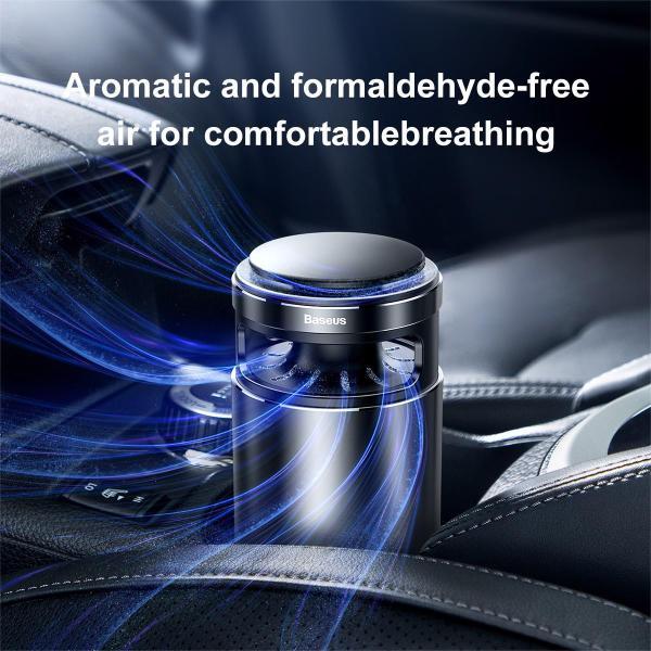 Bộ lọc không khí cho xe hơi Baseus Micromolecule Formaldehyde Purifier - Phân phối bởi Baseus Vietnam