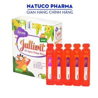 Siro giúp bé Ăn Ngon Jullivit - bổ sung DHA, Taurin, Vitamin và khoáng chất - Hộp 20 ống x 10ml chuẩn GMP Bộ Y tế thumbnail