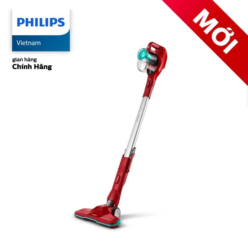 Máy Hút Bụi Không Dây Có Cán Philips FC6721 - Hàng Phân Phối Chính Hãng - Hai tốc độ cài đặt để phù hợp với các loại sàn khác nhau