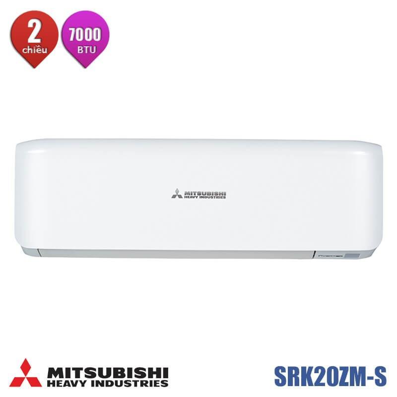 Dàn lạnh Multi treo tường 2 chiều mitsubishi heavy SRK20ZM-S 7000BTU