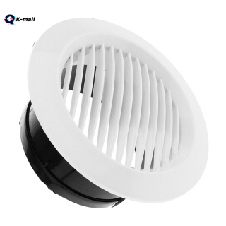 K-Mal Air Vent Grille Circular Indoor Ventilation Outlet Duct Pipe Cover Cap thumbnail
