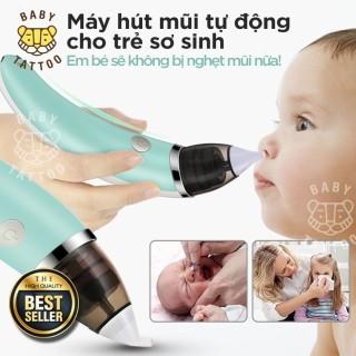 Máy Hút Mũi Cho Bé Sơ Sinh, Máy Hút Mũi Trẻ Em, Máy Hút Mũi Đầu Mềm Little Bees Máy Hút Khỏe Với 5 Mức Độ Nhỏ Gọn, Tiện Dụng thumbnail