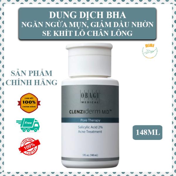 Dung Dịch BHA O.bagi (Link mới) Ngăn Ngừa Mụn, Giảm Nhờn, Se Khít Lỗ Chân lông BHA 2% O.bagi Pore Therapy 148ml