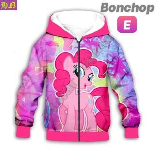 Áo khoác bé gái hình Ngựa Pony từ 11-43kg - Áo khoác nữ - PONY - 100% thun cotton da cá in 3D cực chất- Hương Nhiên thumbnail