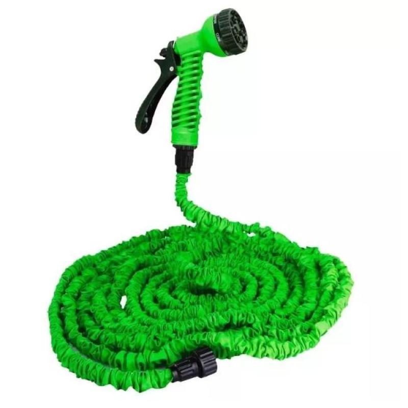 Vòi xịt nước giãn nở rửa xe, tưới cây Loại 15m 7TI02