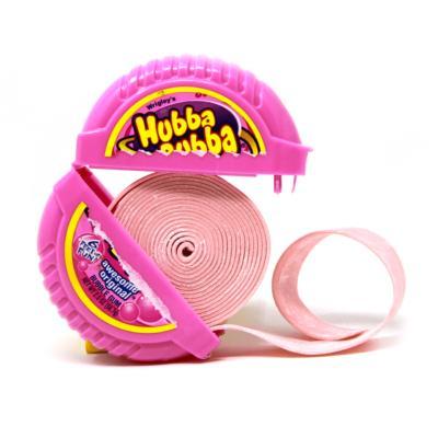 Kẹo gum ( cao su ) cuộn Hubba Bubba dÀI 180cm vị cam ( Mẫu mới - Nội địa Gemany - Xách tay Đức )
