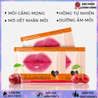 Mặt nạ môi Collagen Images dưỡng môi căng bóng hồng hào mask môi HTL-MN MOI thumbnail
