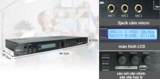 Vang số karaoke, vang số chống hú, Vang số karaoke X5 cao cấp mang lại chất lượng âm thanh trong sáng, hấp dẫn. BẢO HÀNH UY TÍN thumbnail