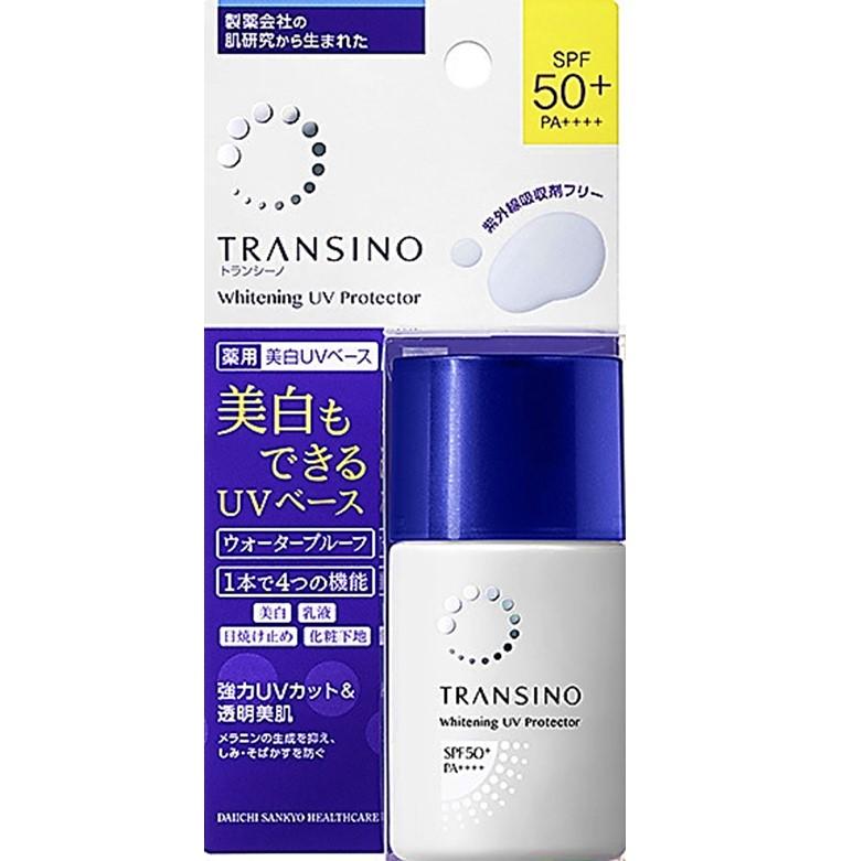 Kem lót trang điểm chống nắng làm trắng da Transino Whitening UV ...
