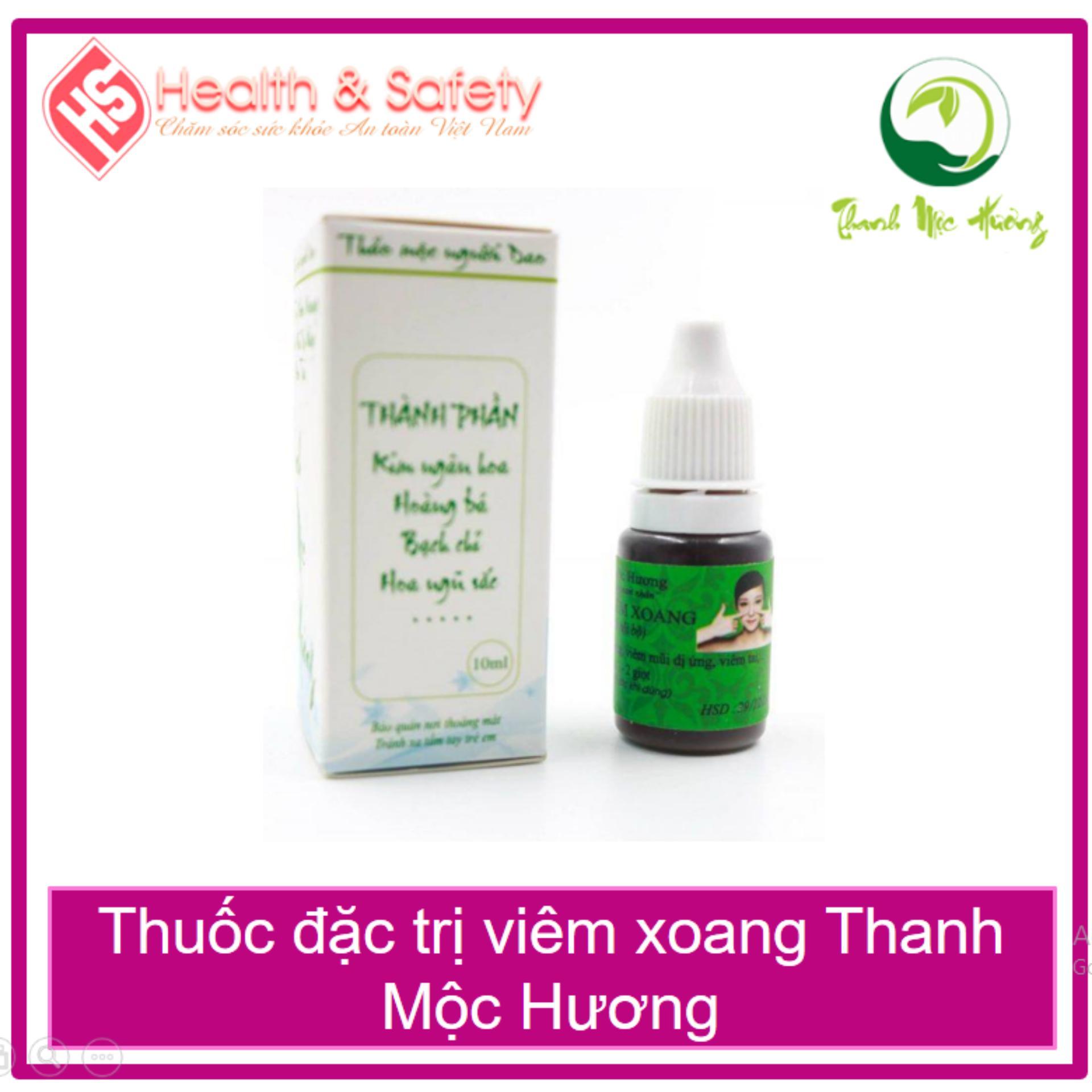 Thảo Dược viêm xoang Thanh Mộc Hương cao cấp