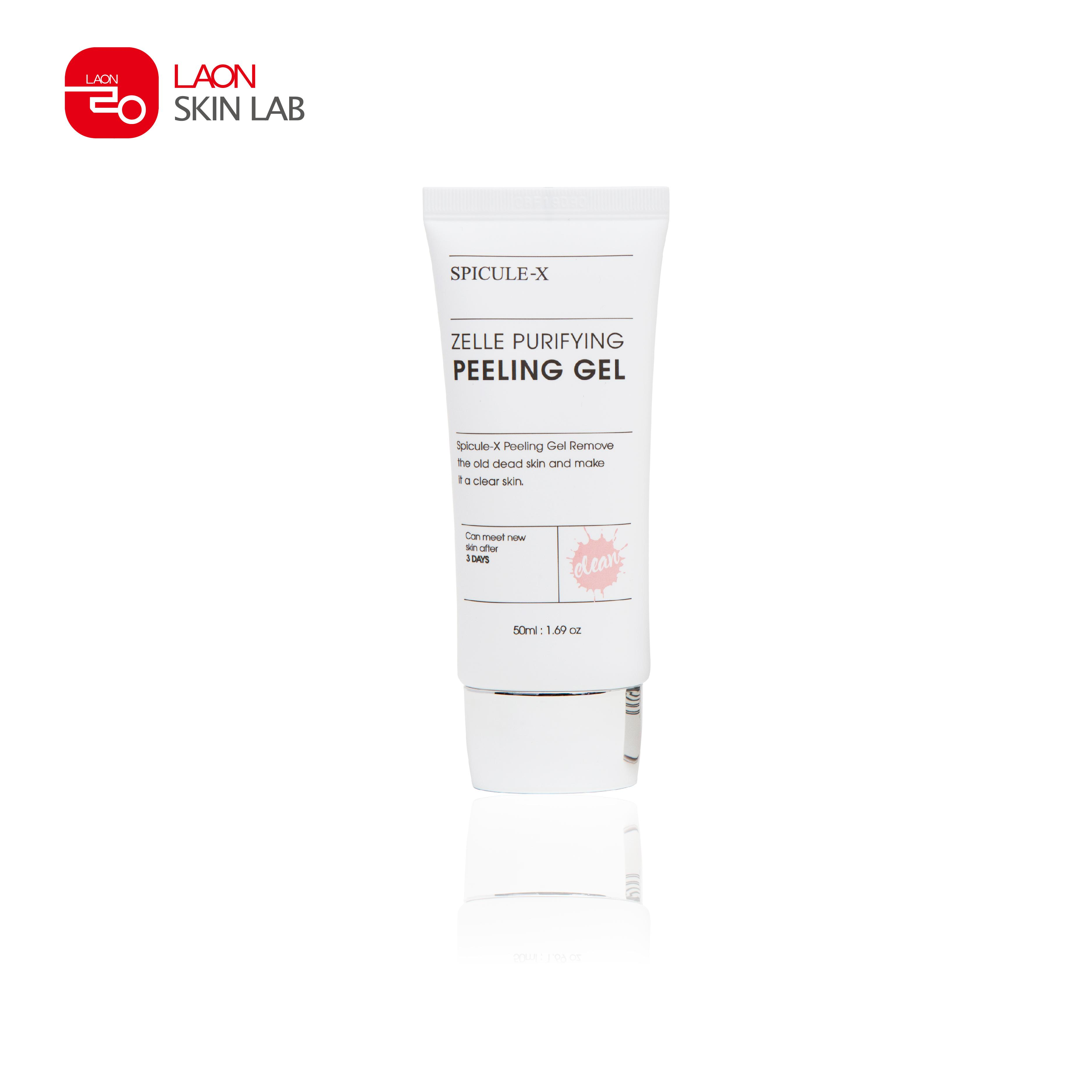 TẨY TẾ BÀO CHẾT SPICULE - X ZELLE PURIFYING PEELING GEL cao cấp