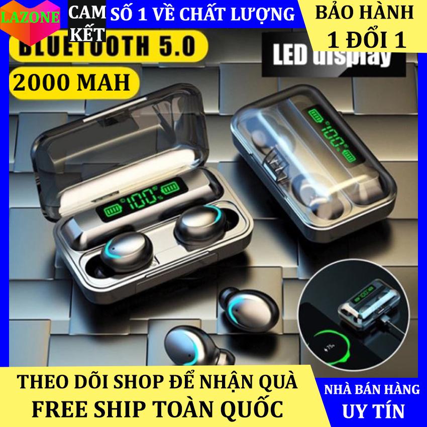 Tai Nghe Bluetooth Không Dây F95 Nhét Tai Pin 3500 maH Micro HD, Chống Nước - Tai nghe bluetooth pin trâu - Tai nghe nhét tai không dây - Tai nghe không dây pin trâu