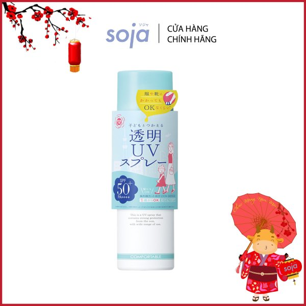 Xịt chống nắng Shigaisen Yohou Transparent Uv Spray SPF 50 PA++++ cao cấp