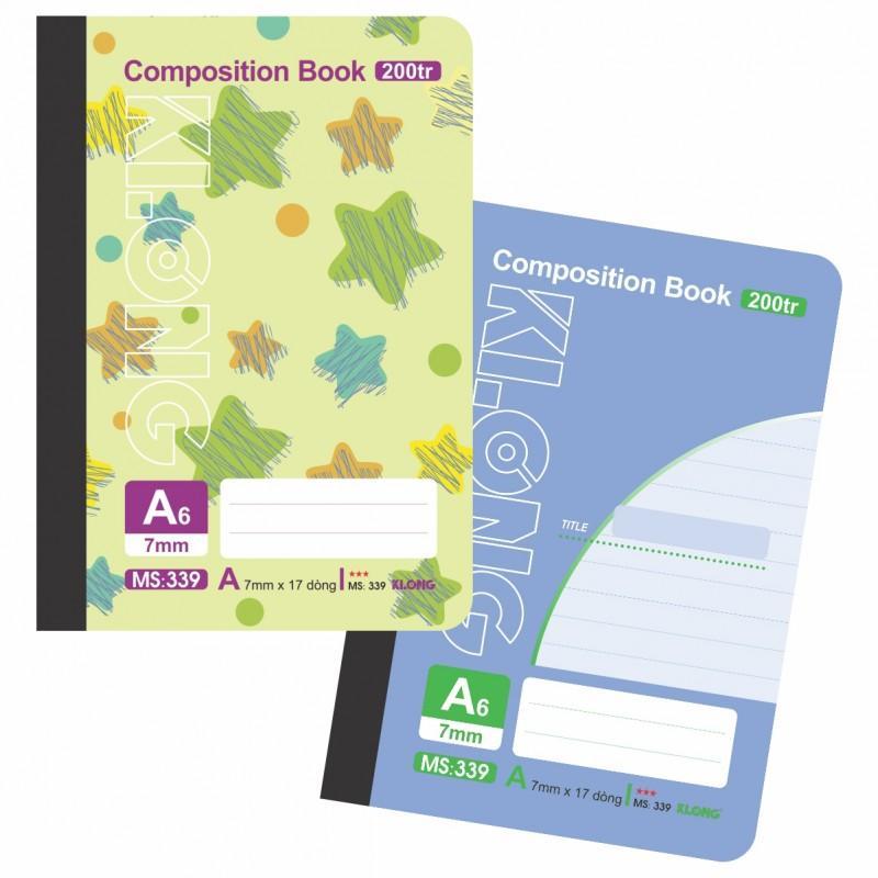 Mua Lốc 5 Sổ may dán gáy A6 - 200 trang; Ms 339