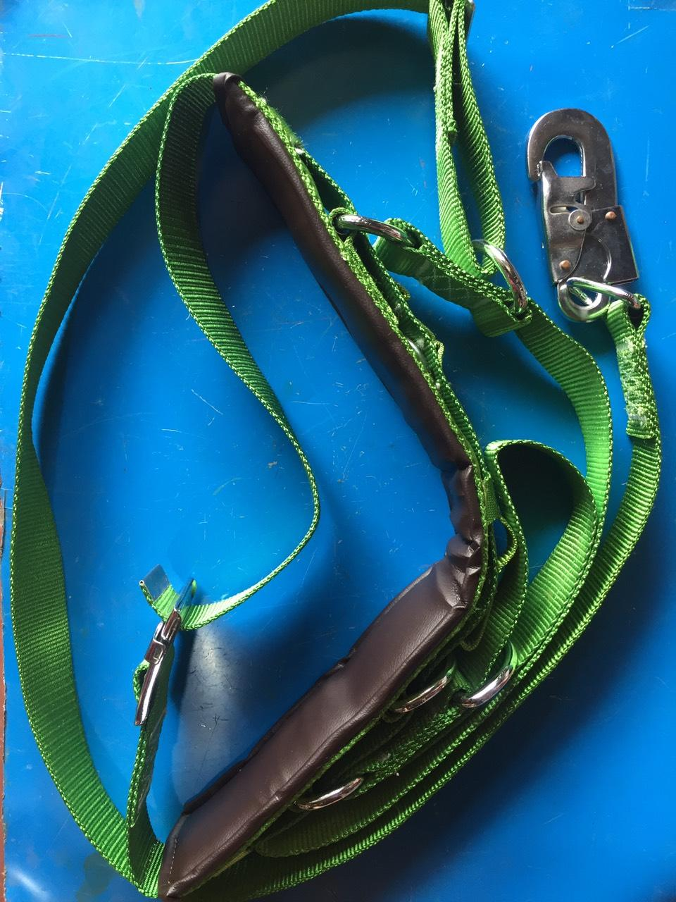 Dây an toàn lao động HAN-KO loại 1 có ghế ngồi , dây an toàn trèo cột điện, dây bảo hiểm leo núi, dây bảo hiểm leo cây