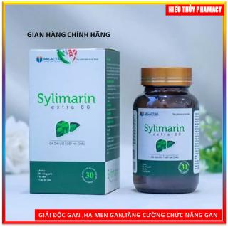 Viên uống bổ gan Silymarin Extra 80- giải độc gan, hạ men gan - tăng cường chức năng gan thumbnail