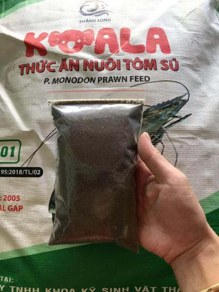 Bịch 100g thức ăn cho tôm, tép, cá cảnh... (hạt cỡ nhỏ 2/10)