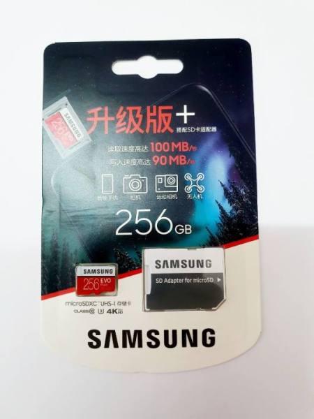 Thẻ Nhớ MicroSDXC Samsung EVO Plus U3 256GB 100MB/s MB-MC256G Box Korea/Hoa