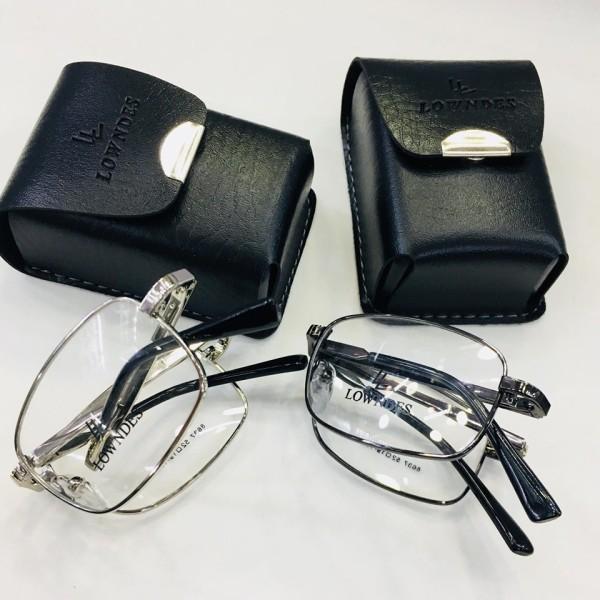 Giá bán [ COMBO ] Gọng kính gấp cao cấp tiện lợi lắp mắt viễn cận , tặng hộp + khăn lau