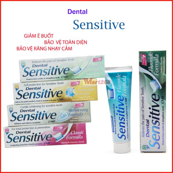 Kem Đánh Răng Dental Sensitive 100Ml Trắng Sáng, Chắc Răng, Giảm Ê Buốt, Bảo Vệ Toàn Diện Răng Nhạy Cảm