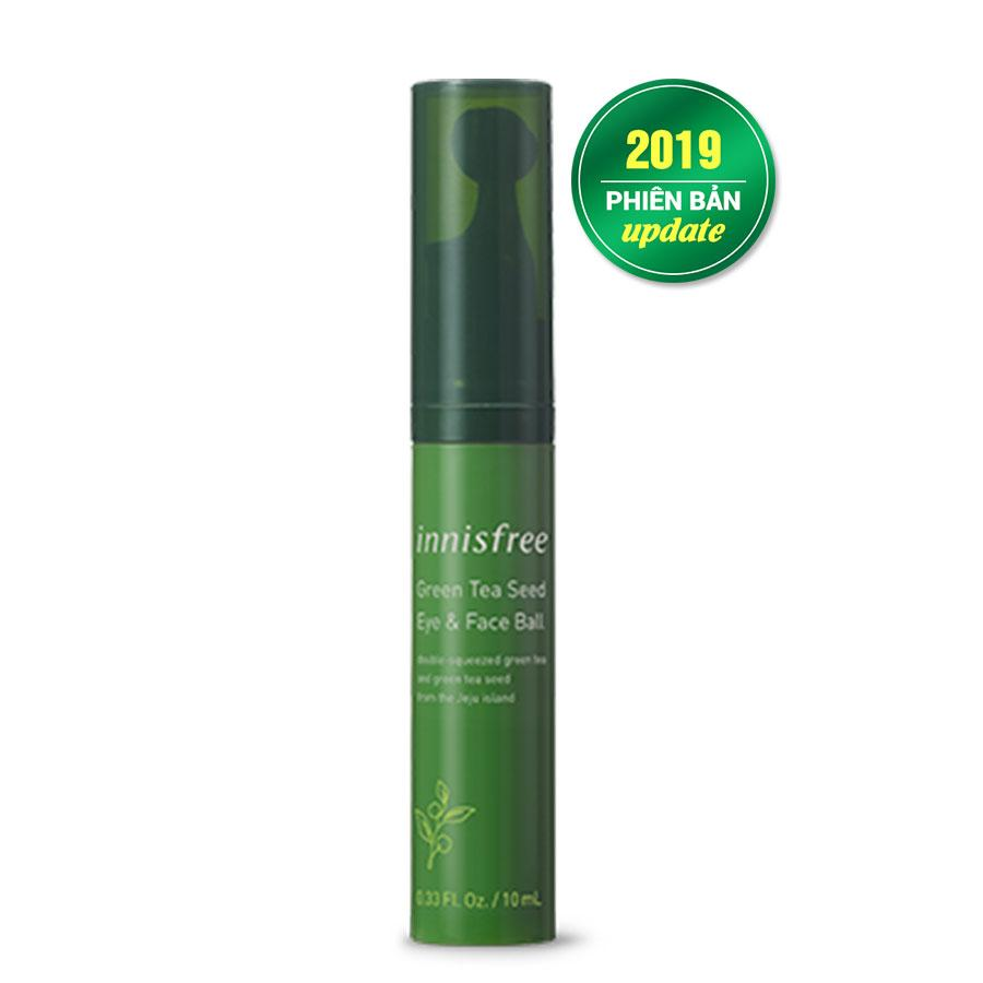 Lăn Dưỡng Innisfree Green Tea Seed Eyes & Face Ball 10ml