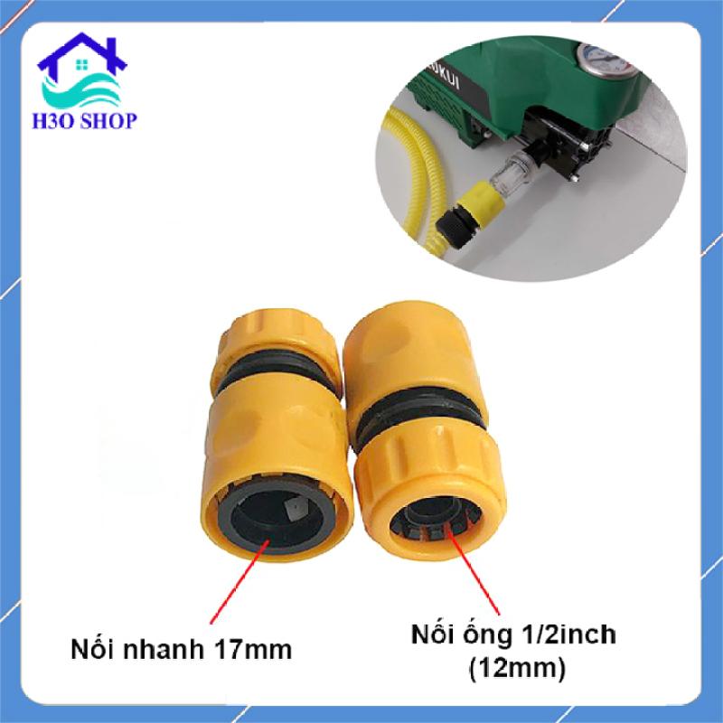 Khớp nối nhanh đầu ống nước vào máy xịt rửa cao áp, nối nhanh đầu dây cấp nước máy rửa xe gia đình, phụ kiện máy rửa xe mini, máy rửa xe áp lực cao, máy phun xịt rửa cao áp