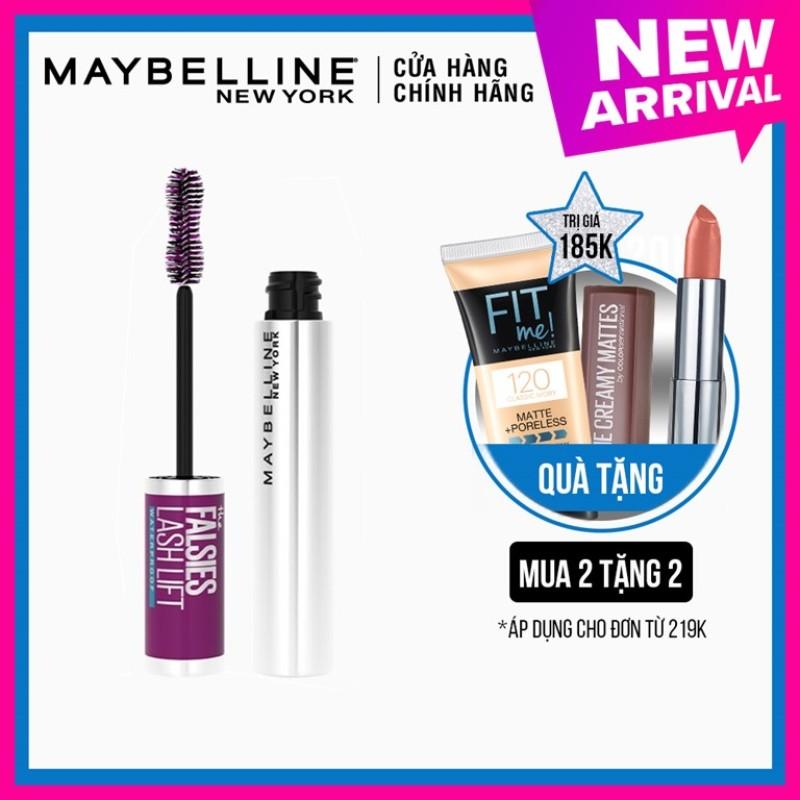 Mascara Uốn Mi, Nâng Mi và Làm Dày Mi Maybelline New York Falsies Lash Lift 8.6ml nhập khẩu
