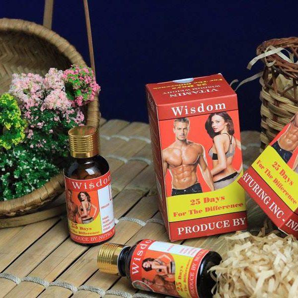Offer Khuyến Mại Combo 2 Hộp Viên Uống Hỗ Trợ Tăng Cân Wisdom Weight Hộp/25 Viên