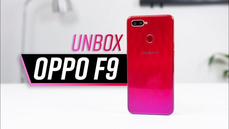 Điện thoại OPPO F9_Tặng_Sạc_Dự_Phòng