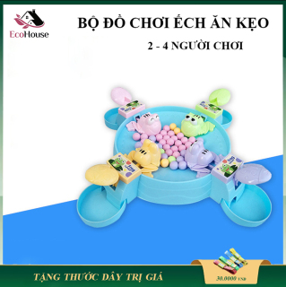 Đồ chơi trẻ em, bộ đồ chơi ếch ăn kẹo dành cho mẹ và bé, món quà giải trí dành cho bé yêu, lỗi đổi mới trong 7 ngày đầu thumbnail
